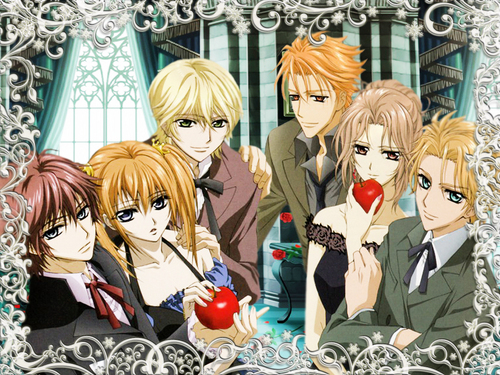 vampire knight wallpaper probably containing animê titled Vampire Knight