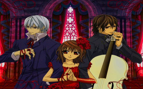 Vampire Knight wolpeyper entitled Vampire Knight