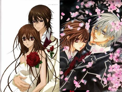 Vampire Knight wolpeyper possibly with a bouquet and anime entitled Vampire Knight