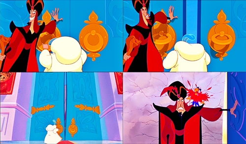Walt Disney Movie Mistakes - Jafar & Iago