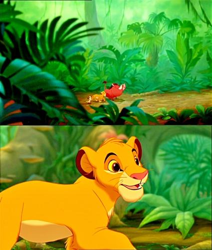 Walt Disney Movie Mistakes - Pumbaa