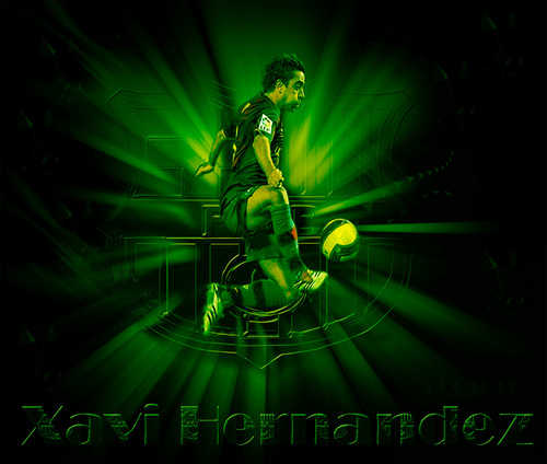 Xavi FC Barcelona 壁紙