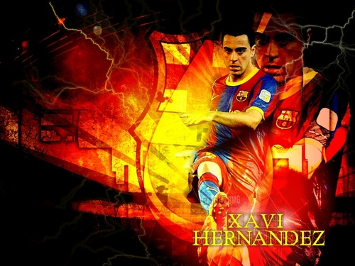 Xavi Wallpaper - fc-barcelona Fan Art