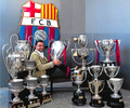 Xavi and trophies!