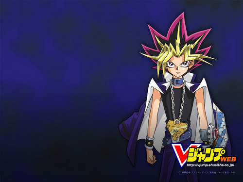 Yami Yugi fond d'écran possibly containing animé entitled Yami Yugi