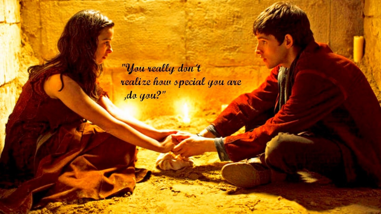 Merlin And Freya images You are special HD wallpaper and background ...