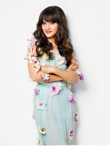 Zooey Deschanel wallpaper called Zooey