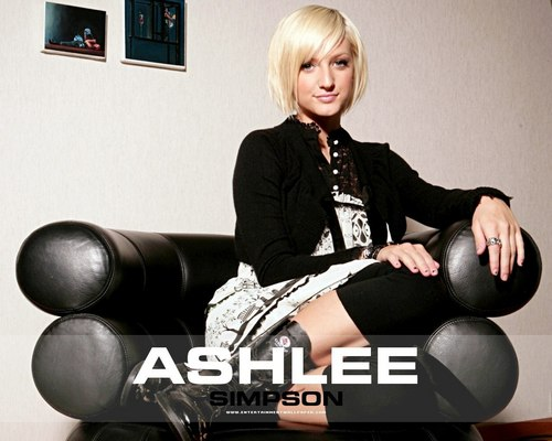 Ashlee Simpson wallpaper probably containing bare legs, hosiery, and a hip boot called ashlee