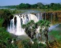 blue nile falls - africa photo