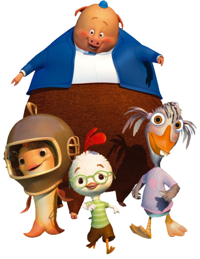 chicken little images chicken little and friends wallpaper and