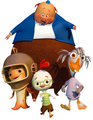 chicken little and friends - chicken-little photo
