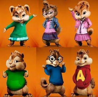 chipettes, chipmunks