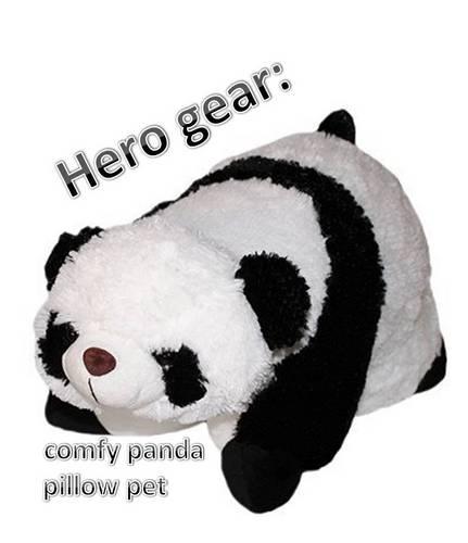 comfy panda तकिया pet