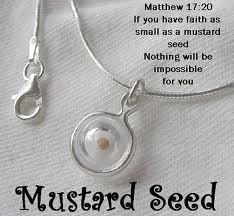 faith like a mustard seed