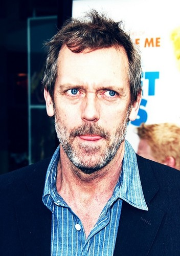 Hugh Laurie karatasi la kupamba ukuta possibly with a business suit and a portrait titled hugh laurie