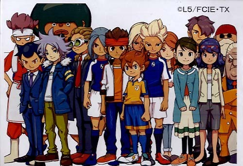 inazuma all grown up