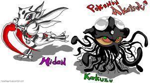 kakuzu and hidan as pokemn