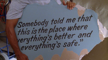 One Tree Hill wallpaper probably with a sign titled oth