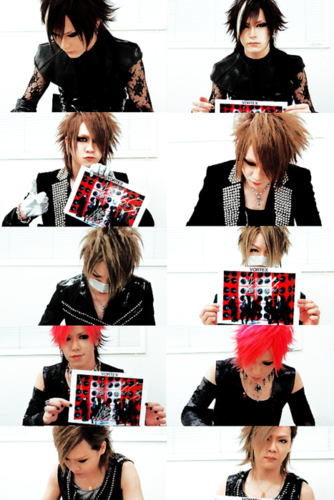 The Gazette achtergrond titled the gazette