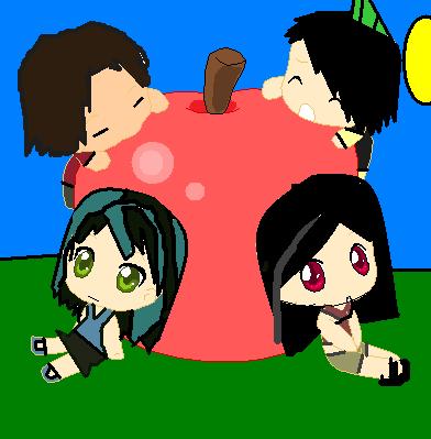 the tdi ace gang: the big سیب, ایپل