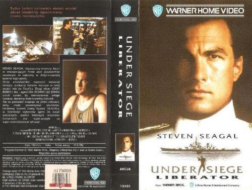 under siege vhs cover