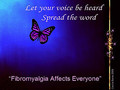 voice be heard - fibromyalgia-awareness photo