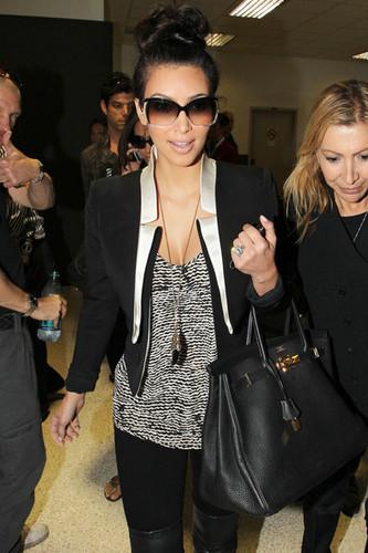 Kim Kardashian at LAX