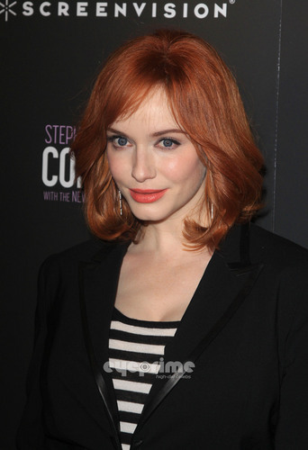 Christina Hendricks wallpaper possibly containing a portrait called 'The Company' New York Premiere