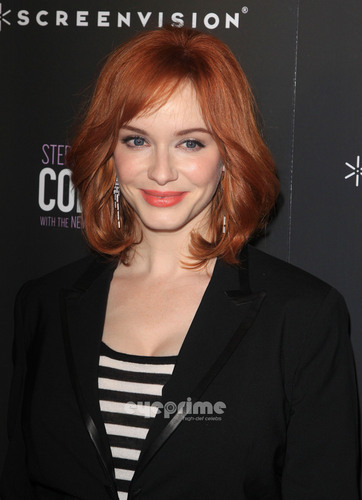 Christina Hendricks wallpaper probably containing a portrait entitled 'The Company' New York Premiere
