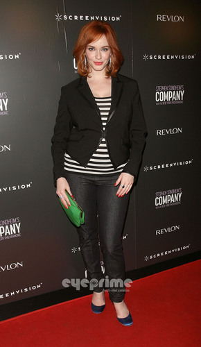 Christina Hendricks wallpaper containing a business suit titled 'The Company' New York Premiere