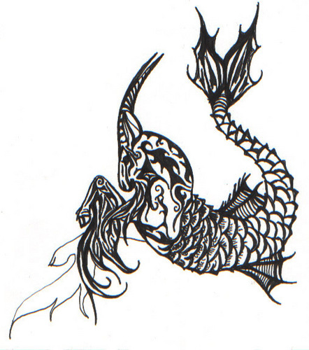 Capricorn wallpaper possibly with a triskelion and a fleur de lis titled  capricorn