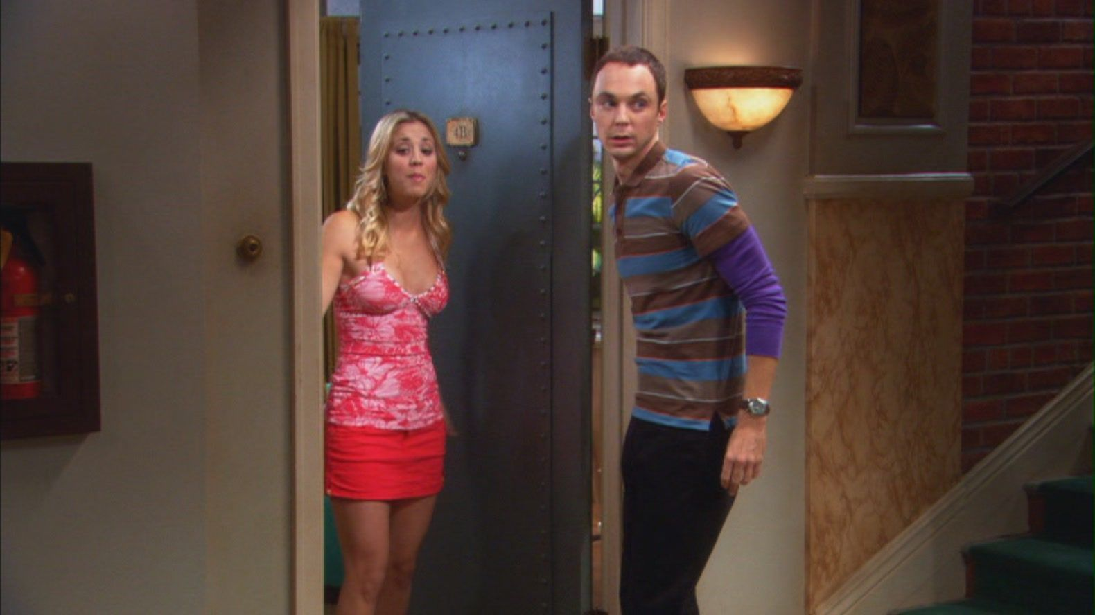 are sheldon and penny dating