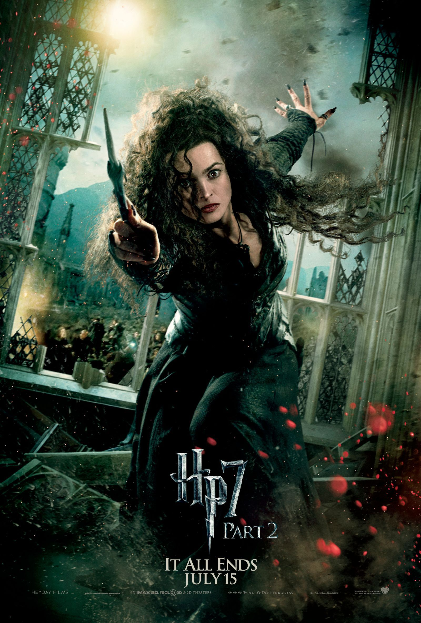 A larger pic of Bellatrix's poster