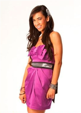 AJ Lee wallpaper probably with a cocktail dress, a chemise, and a bustier entitled AJ Lee