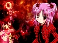 AMU red - shugo-chara wallpaper