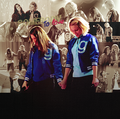 Achele.  - lea-michele-and-dianna-agron fan art