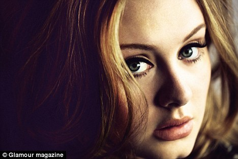Adele - Glamour UK (July 2011)