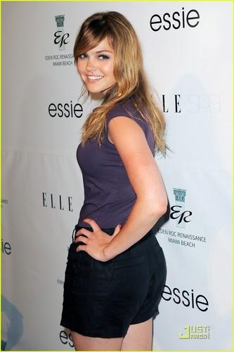 Aimee Teegarden: ELLE Spa Launch in Miami!