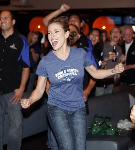 Alyssa - 5th Annual State Farm Dodgers Dream Foundation Bowling Extravaganza, July 23, 2009