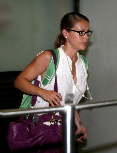 Alyssa - Alyssa and Dave Bugliari leave Bora Bora, August 29, 2009