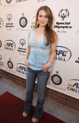 Alyssa - Global Football Reception and ужин in Pasadena, July 20, 2009