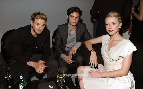 Amber Heard : The Dior VIII Launch Party in NY, June 8