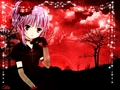 shugo-chara - Amu red light wallpaper