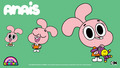 Anais - the-amazing-world-of-gumball wallpaper