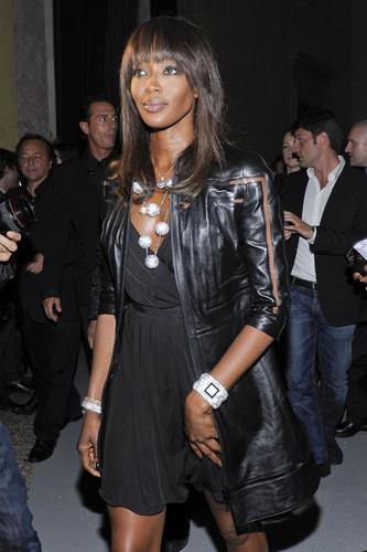 Arriving @ Swarovski Fashionation in Milan 7 06 11