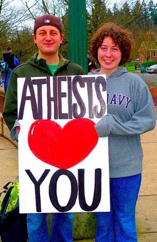 Atheists Amore te