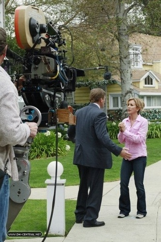Desperate Housewives wallpaper titled BEHIND THE SCENES > SAISON 7