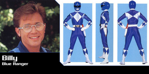Mighty Morphin Power Rangers 바탕화면 called Billy