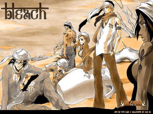 Bleach manga fondo de pantalla