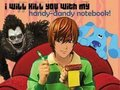 Blues Clues with Light Yagami